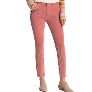FREE PEOPLE - High Waist Skinny Corduroy Pants